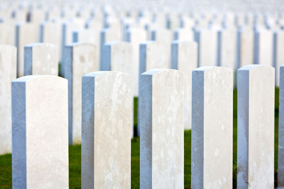 world war one gravestones